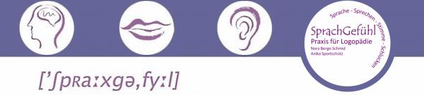 Willkommen in der logopädischen Praxis SprachGefühl!
